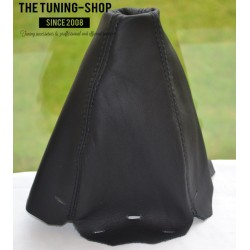 AUDI A4 B5 95-97 GEAR GAITER SHIFT BOOT BLACK LEATHER