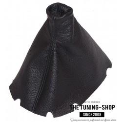 JAGUAR S-TYPE 2000-2008 HANDBRAKE GAITER CUSTOM BOOT BLACK LEATHER BLACK STITCHING NEW