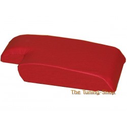 BMW E46 ARM REST ARMREST RED COVER REAL LEATHER