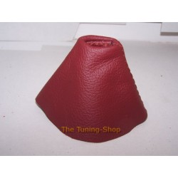 BMW E46 SMG GEAR GAITER SHIFT BOOT TANINRED LEATHER NEW