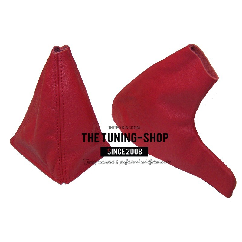 Gear /& Handbrake Gaiter For MG MGF 1995-2000 Red Leather