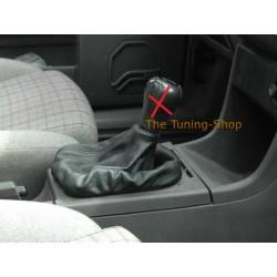 FOR  VW PASSAT B3 B4 88-96 GEAR GAITER SHIFT BOOT BLACK LEATHER