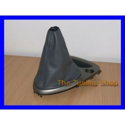CITROEN C5 MK1 01-07 GEAR GAITER SHIFT BOOT GREY GENUINE LEATHER NEW