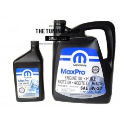 ORIGINAL MOPAR MINERAL PETROL ENGINE OIL SAE 5W-20 MaxPro 5L+0.946L