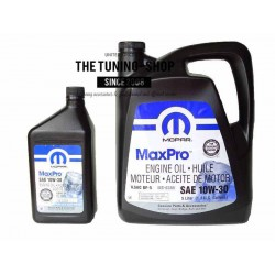 ORIGINAL MOPAR SEMI SYNTHETIC ENGINE OIL SAE 10W-30 MaxPro 5L + 0.946L FOR CHRYSLER DODGE JEEP PLYMOUTH FIAT NEW