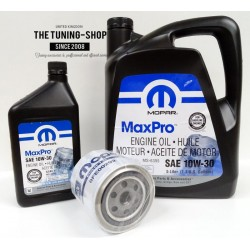 Engine Oil Filter & MOPAR Semi Synthetic Engine Oil SAE 10W-30 MaxPro For Dodge Dakota Durango