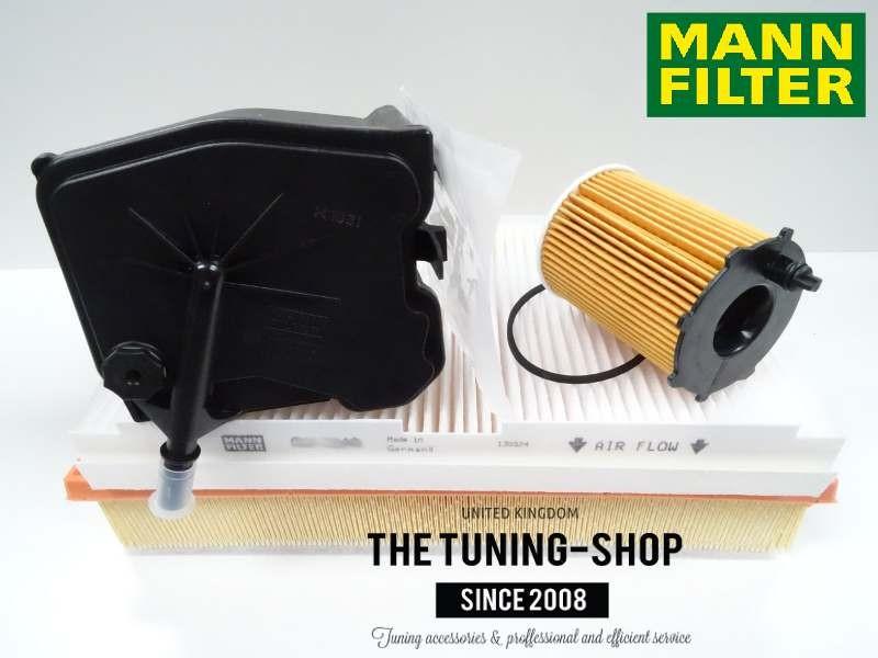 Air Filter Spark Plugs 2002-2009 Citroen C3 1.6 16v Petrol Service Kit Oil 1