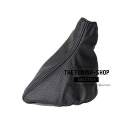 FOR  MERCEDES VITO 96-02 GEAR GAITER SHIFT BOOT BLACK GENUINE LEATHER