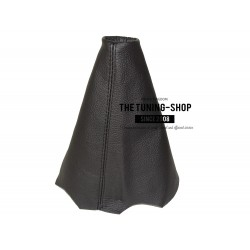 FOR  PEUGEOT 206 GEAR GAITER SHIFT BOOT BLACK LEATHER NEW