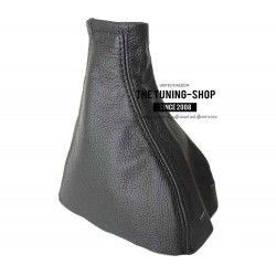 FOR VAUXHALL OPEL ZAFIRA A 99-05 GEAR GAITER BLACK LEATHER