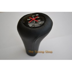 BMW E34 1988-1995 BLACK LEATHER COVER FOR GEAR KNOB