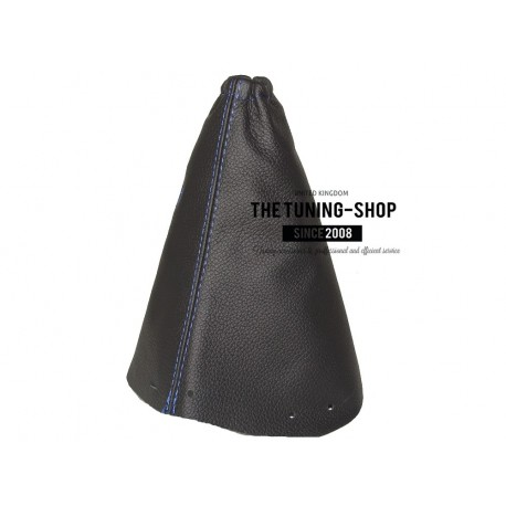 FOR PEUGEOT 407 GEAR GAITER SHIFT BOOT BLACK LEATHER NEW
