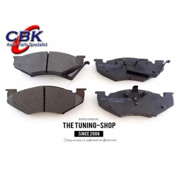 Front Brake Pads D257 CBK For FORD ESCORT EXP TEMPO MERCURY LN7 LYNX