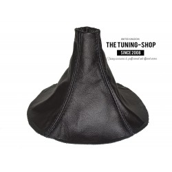 FOR  MAZDA RX-7 RX7 GEAR GAITER SHIFT BOOT BLACK LEATHER