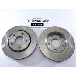 2x Brake Disc Rotors Front 53052A For CHRYSLER TOWN & COUNTRY DODGE GRAND CARAVAN