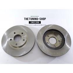 2x Brake Disc Rotor Front 31306A For IFINITI I35 NISSAN ALTIMA MAXIMA