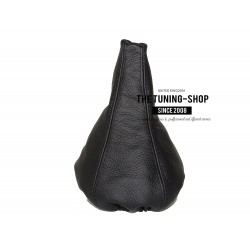 FOR VW GOLF 2 MK2 83-91 GEAR GAITER SHIFT BOOT BLACK LEATHER new