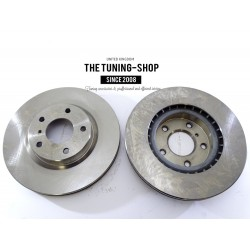 2x Brake Disc Rotor Front 31350A AS TEC For INFINITI G35 NISSAN 350Z