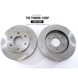 2x Brake Disc Rotor Front 31328A AS TEC For INFINITI QX56 NISSAN ARMADA TITAN