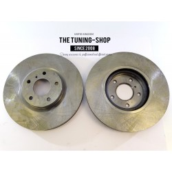 2x Brake Disc Rotor Front 31375A AS TEC For NISSAN 350Z 370Z ALTIMA MAXIMA MURANO