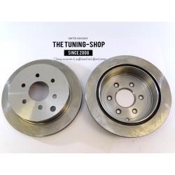 2x Brake Disc Rotor Rear 31410 JASON For NISSAN FRONTIER XTERRA SUZUKI EQUATOR