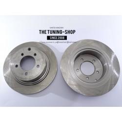 2x Brake Disc Rotor Rear 53043 For CHRYSLER SEBRING DODGE CALIBER JEEP COMPASS