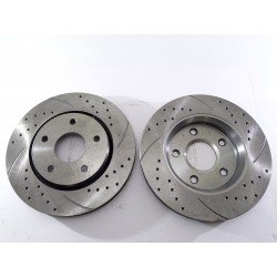 Brake Disc Rotor Front 53051 AS TEC For CHRYSLER TOWN & COUNTRY DODGE GRAND CARAVAN