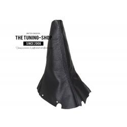 FOR SUBARU IMPREZA WRX 01-05 GEAR GAITER BLACK LEATHER SHIFT BOOT NEW