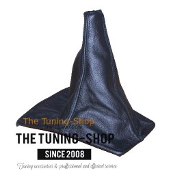 FOR  TOYOTA CELICA 90-93 GEAR GAITER SHIFT BOOT BLACK LEATHER