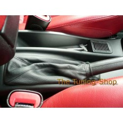 ALFA ROMEO 156 HANDBRAKE GAITER BOOT BLACK LEATHER 03-05 NEW