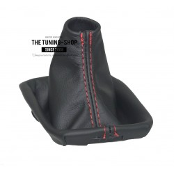 VOLVO C30 C70 S40 V50 2004-2013 GEAR GAITER BLACK LEATHER