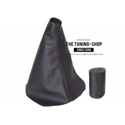 FOR RENAULT LAGUNA MK2 01-04 LEATHER GEAR GAITER AND GEAR KNOB COVER 5 SPEED