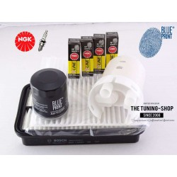Premium Service Kit for Toyota Celica 1.8 16V VT-i 143HP 99-06 Air Cabin Oil Filters & Spark Plugs New