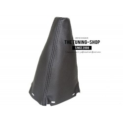 FOR TOYOTA AVENSIS 2003-2006 GEAR GAITER BLACK LEATHER BOOT new
