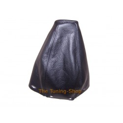 MERCEDES A CLASS W168 97-04 GEAR GAITER SHIFT BOOT BLACK LEATHER