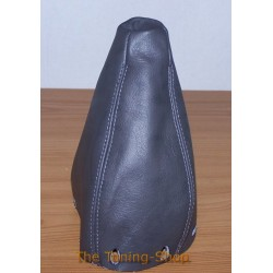 MERCEDES C CLASS 93-00 GEAR GAITER SHIFT BOOT DARK GREY LEATHER
