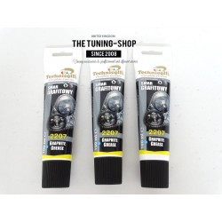 2 x 100ml GRAPHITE GREASE LUBRICANT FOR SPLINED & SCREWED JOINTS GEARS SLIDING GATES etc TECHNICQLL NEW