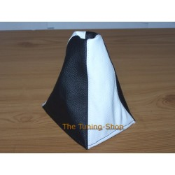 MG MGF 95-00 GEAR GAITER SHIFT BOOT BLACK & WHITE NEW