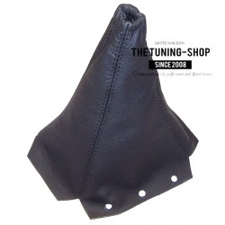 FOR PEUGEOT 406 COUPE MANUAL BLACK LEATHER GEAR GAITER