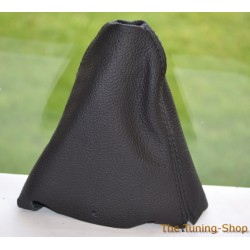 BMW MINI COOPER S ONE GEAR GAITER AUTOMATIC BLACK LEATHER NEW