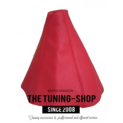 FOR SEAT IBIZA CORDOBA 99-01 GEAR GAITER RED LEATHER SHIFT BOOT