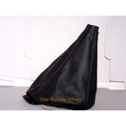CLASSIC MINI GEAR GAITER / SHIFT BOOT BLACK LEATHER NEW