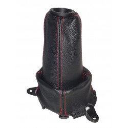 "FOR  HONDA CIVIC FN2 06-12 GEAR GAITER LEATHER with plastic frame and top ring ""Type R"" Embroidery"