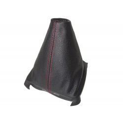 FOR SEAT LEON MK3 2012-2015 GEAR GAITER WITH PLASTIC FRAME LEATHER