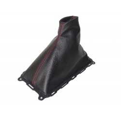 FOR FORD MUSTANG 2010-15 V6 GEAR GAITER WITH PLASTIC FRAME LEATHER