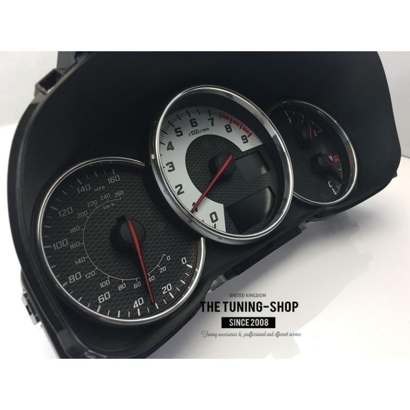Chrome Gauge Rings For Scion FR-S Toyota GT86 Subaru BRZ Polished Trim Surrounds
