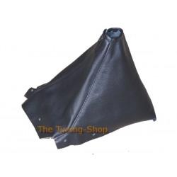 NISSAN SKYLINE R34 1998-2002 BLACK GENUINE LEATHER GEAR GAITER