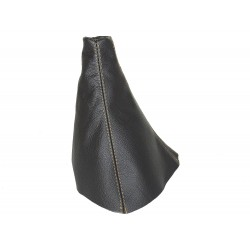 FOR RANGE ROVER P38 BLACK LEATHER GEAR GAITER