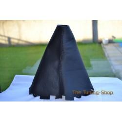 RENAULT LAGUNA MK2 FL 05-07 GEAR GAITER BLACK LEATHER BOOT NEW