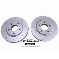 2x Brake Disc Rotor Front 53004 JASON 780049 For CHRYSLER TOWN & COUNTRY VOYAGER